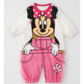 Disney Minnie Short Sleeve Jumpsuit Romper