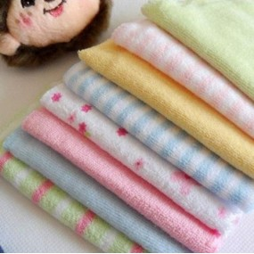 Baby Candy Roll Marshmallow Wash Clothes 8pcs Pack