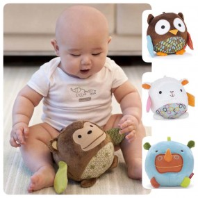 Baby Animal Chimes Ball Toy