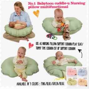 Babytoon Multi Function Nursing Pillow