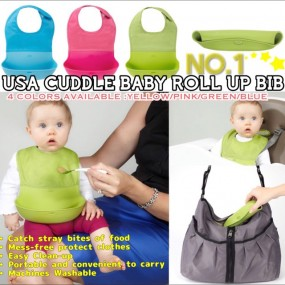 Cuddle Baby Roll-up Bib