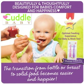 Cuddle Baby Baby First Spoon 2pcs Pack