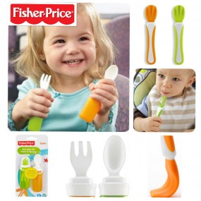 Fisher-Price On The Go Fork And Spoon Set