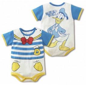 Donald Duck Sailor Short Sleeve Romper