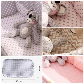 u:baby Crib Fitted Sheet
