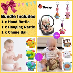 My Baby Buddies Toy Bundle