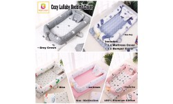Babytoon Cozy Lullaby Portable Lounger Bedding Cover 3pcs Set