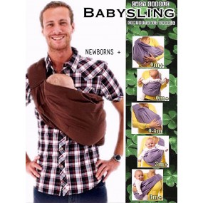 EASY CUDDLE BABY SLING CARRIER