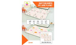 Babytoon Bumper XPE Large Play mat Reversible Non-Toxic